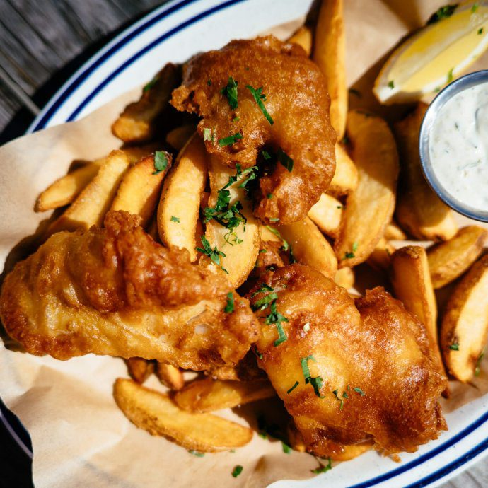 Fish and Chips from Fish in Sausalito