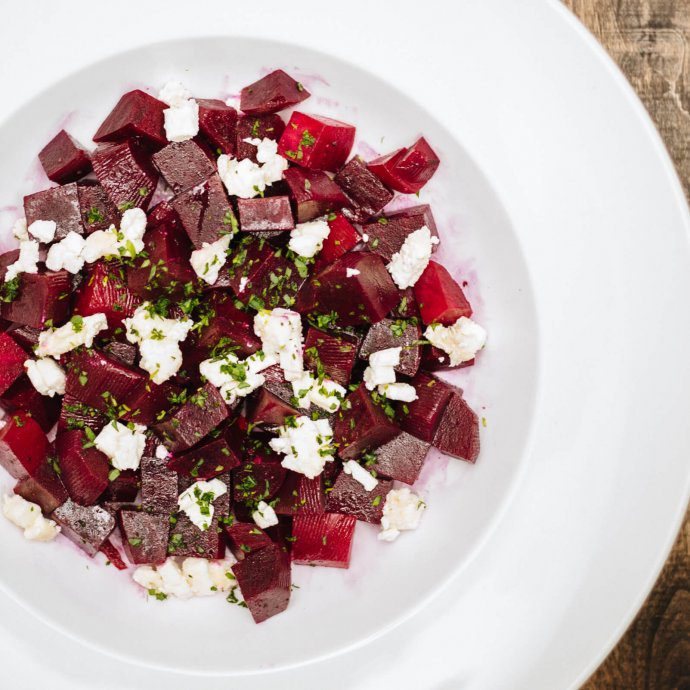 The Taste SF loves to make this roasted beet and goat cheese salad recipe in the summer.