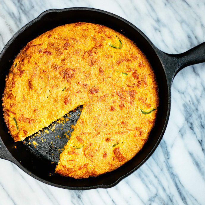 cheddar cornbread is great for bbqs