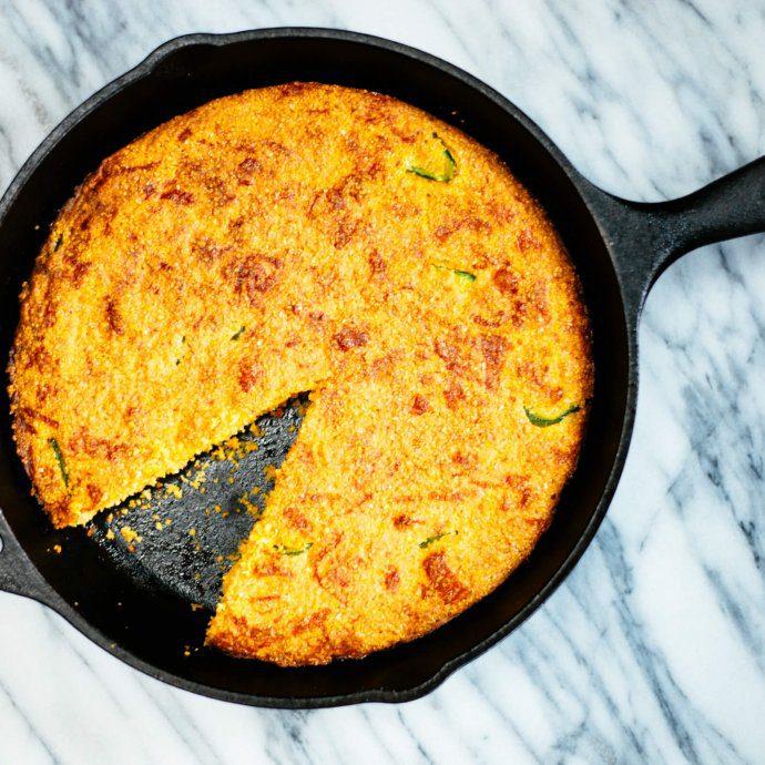 cheddar cornbread is great for bbqs