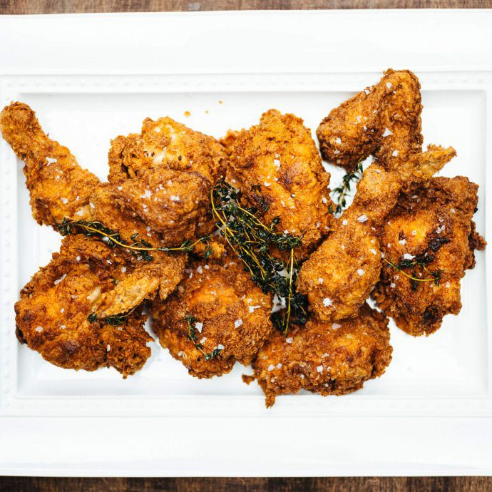 The Taste SF's spicy buttermilk fried chicken
