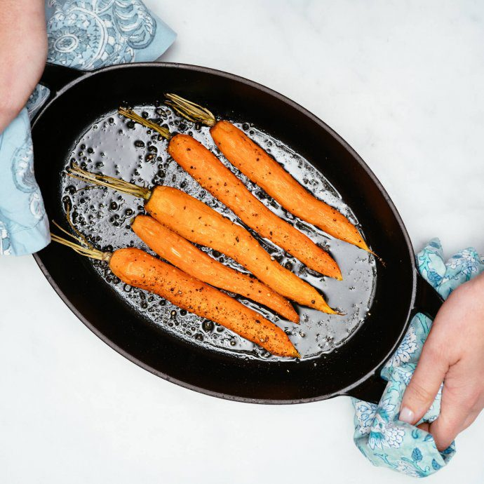 Roasting Carrots is a simple side dish, The Taste SF