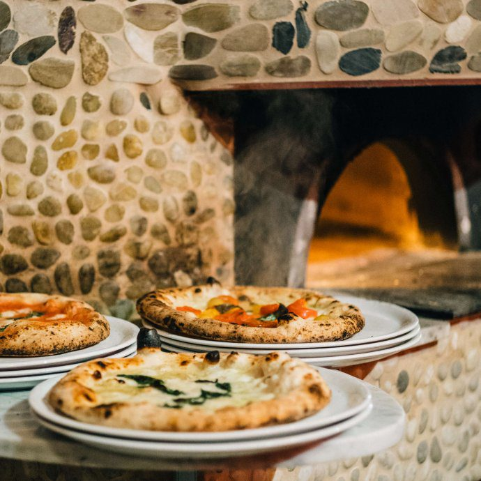 Pizzas by Anthony Mangieri at Una Pizza Napoletana in in San Francisco with The Taste SF