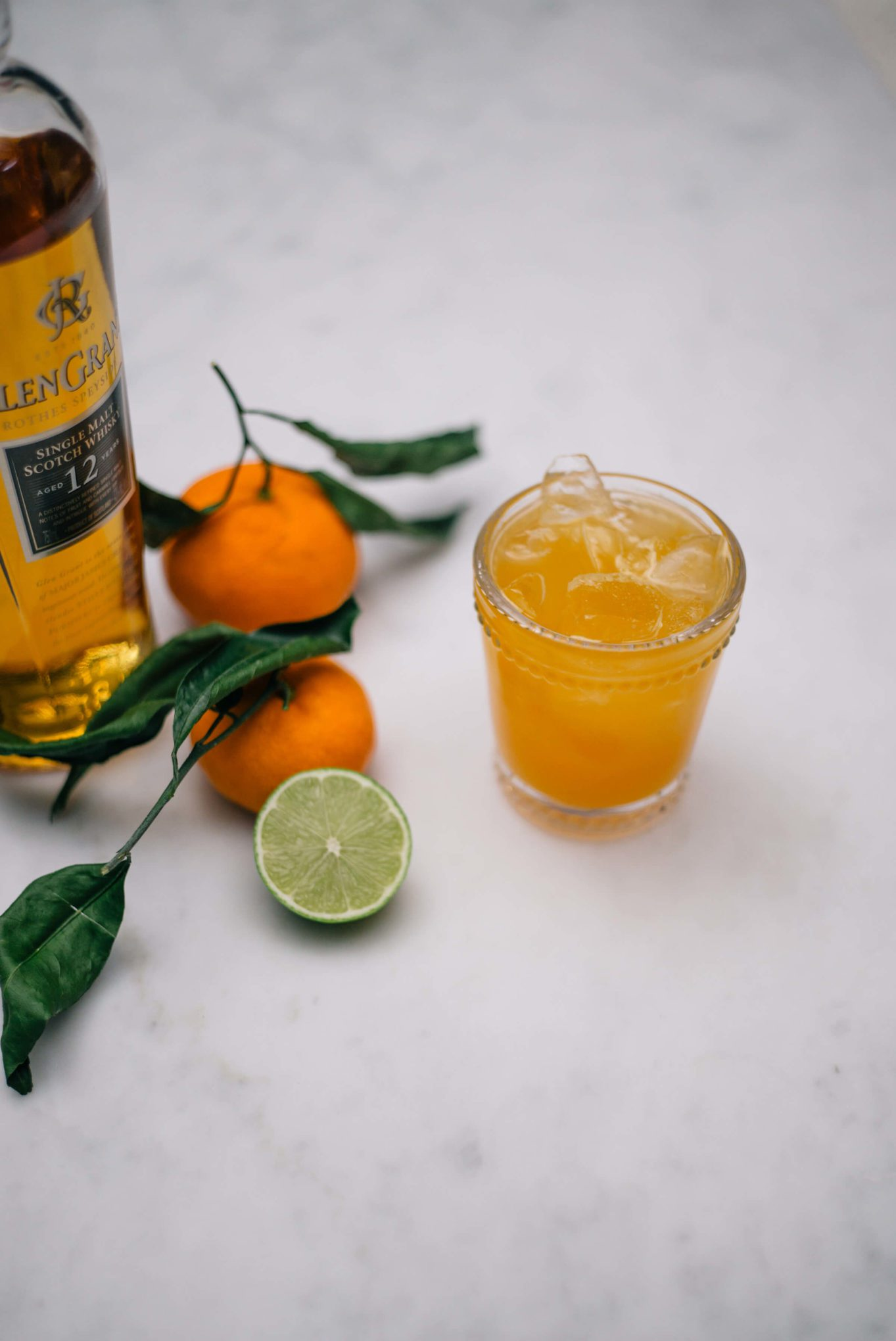 The Taste SF makes an Indian Summer Cocktail made with scotch and clementines