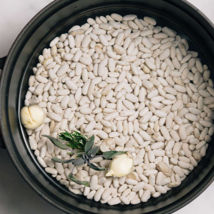 How to make beans Italian Style by The Taste SF