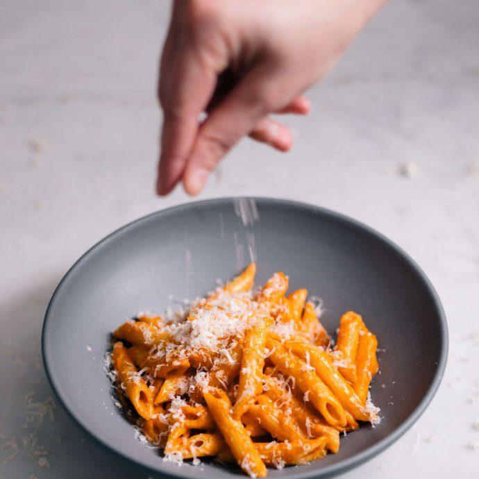 Penne alla Vodka is a simple tomato based italian pasta recipe, made by The Taste SF.