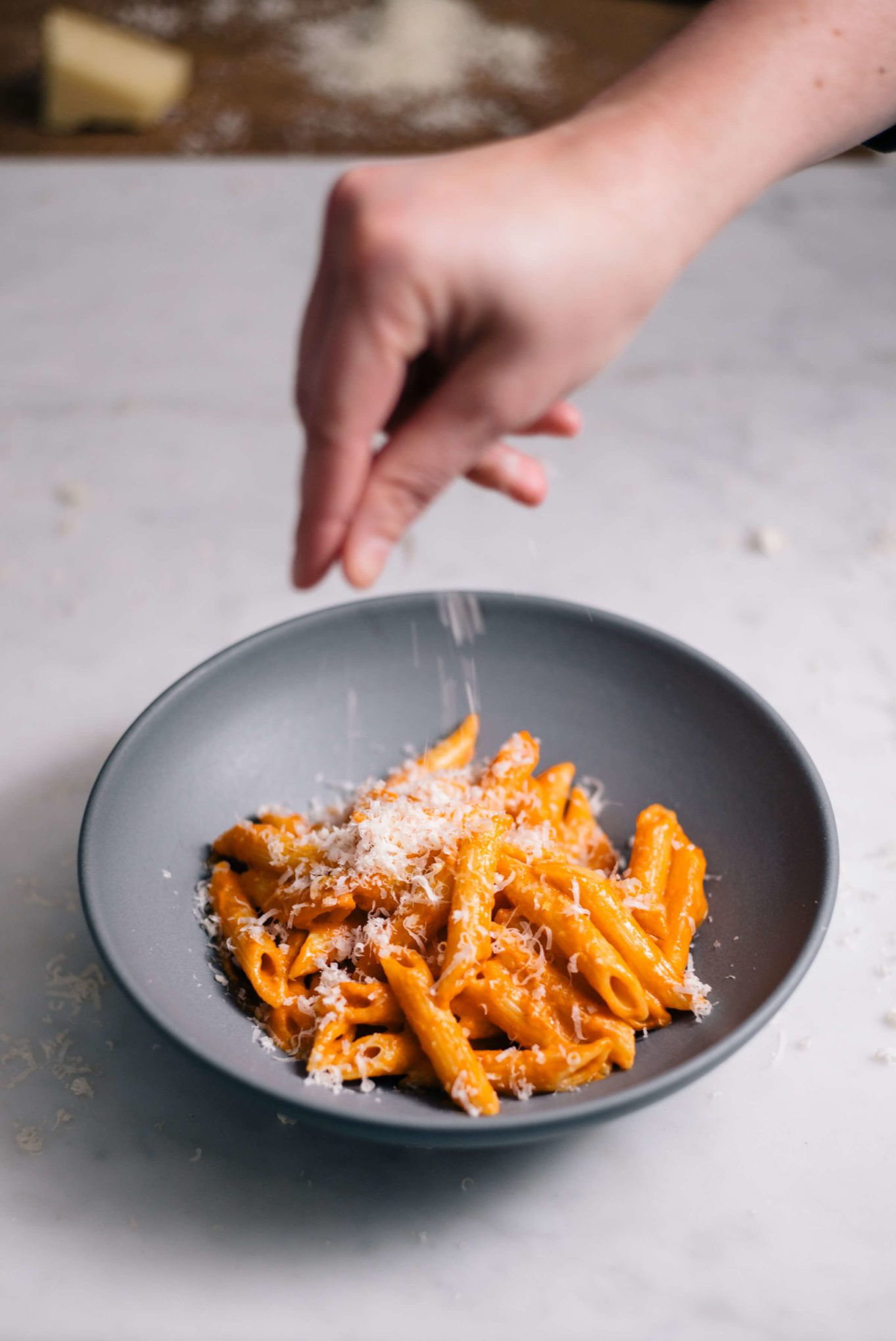 Penne alla Vodka is a simple tomato based italian pasta recipe, made by The Taste SF.
