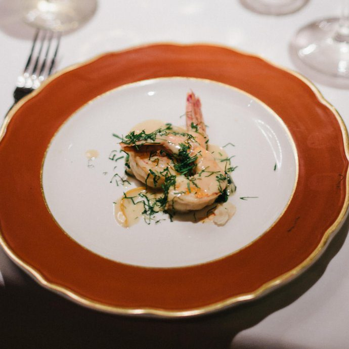 San Francisco's The Blue Fox Vintage Shrimp Scampi Alla Livornese Recipe, The Taste SF
