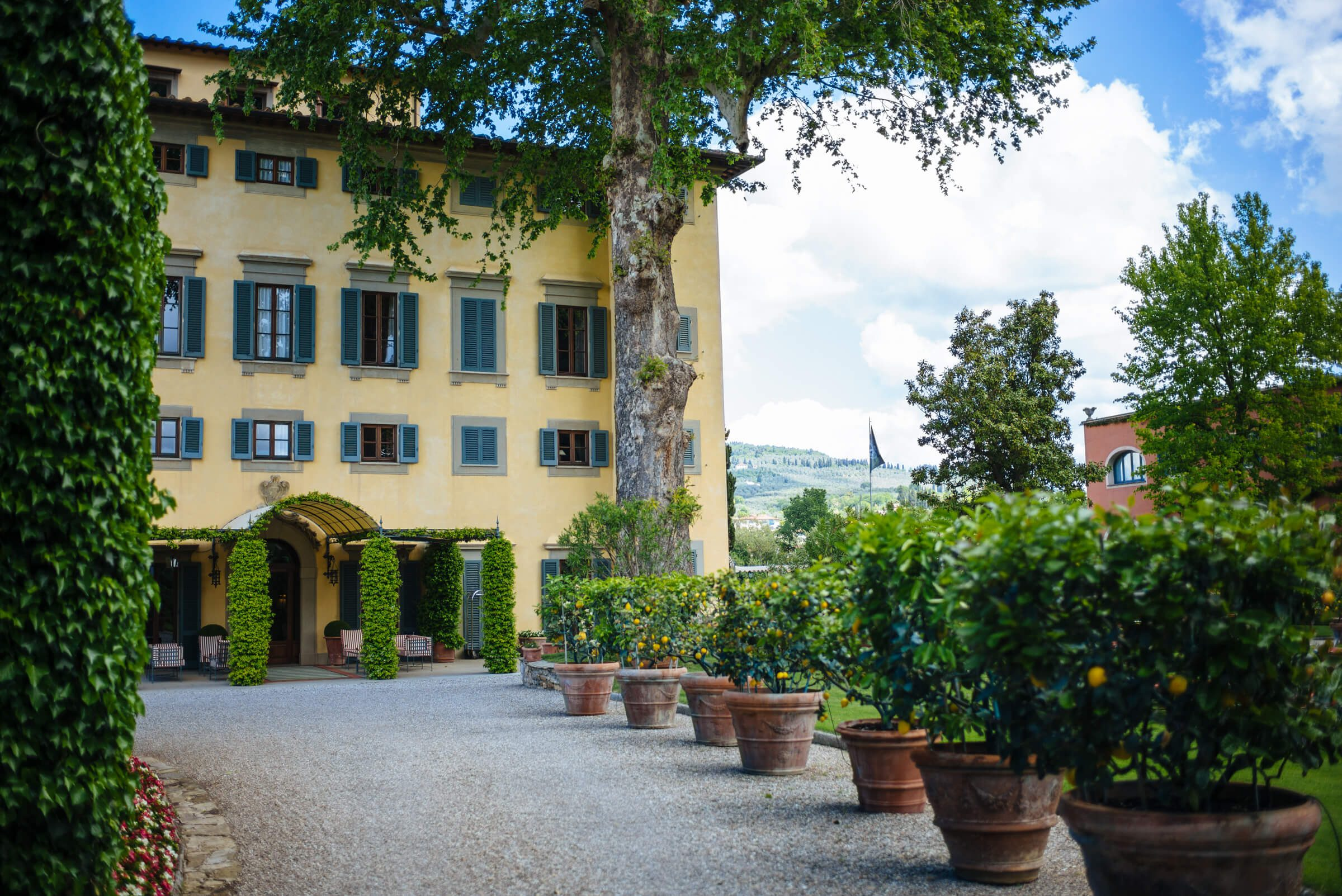 Villa La Massa is the perfect hotel to stay at in Florence Italy, The Taste SF