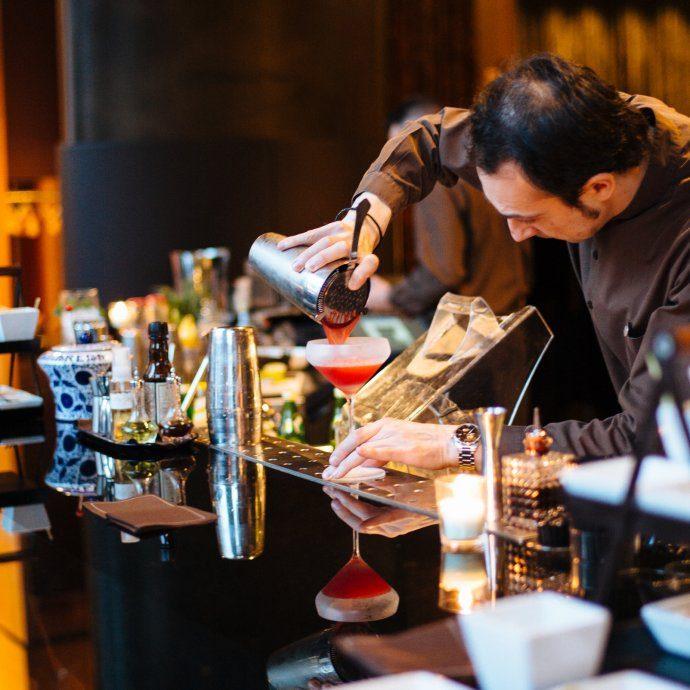 The Bulgari Hotel il Bar in Milano Italy, The Taste SF