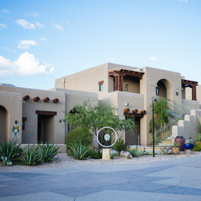 Hotel Hacienda del Sol, Tucson Arizona, The Taste SF
