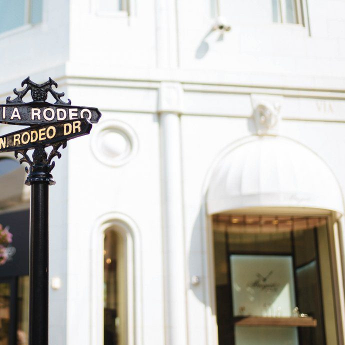 Rodeo Drive Beverly Hills LA, The Taste SF