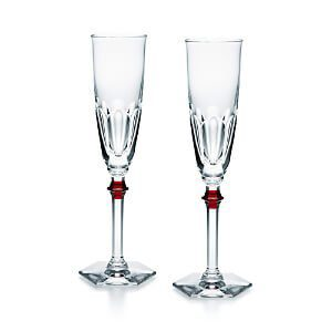 baccarat harcourt flute for a wine lovers gift - find more ideas on thetastesf.com