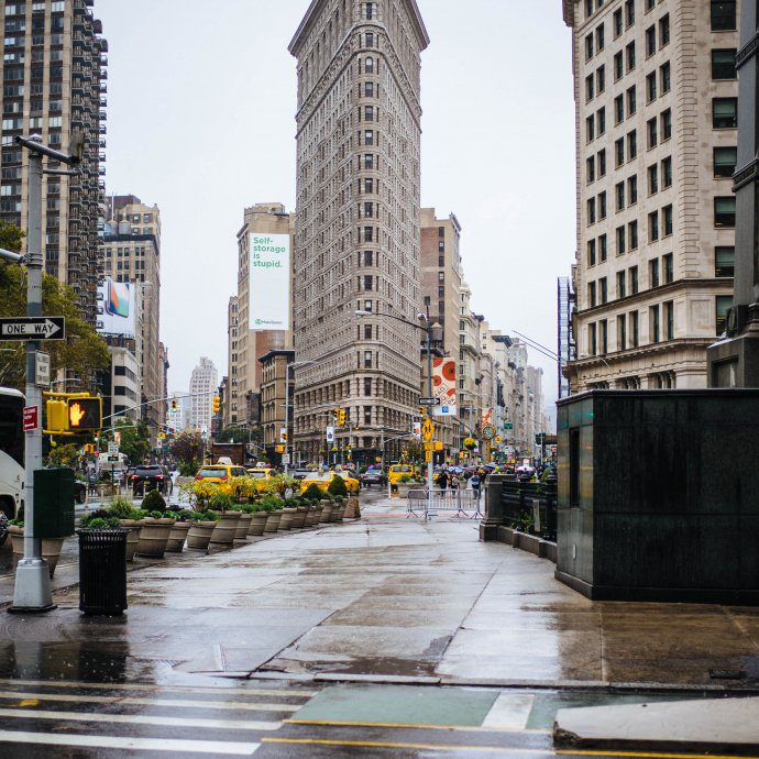 The Flat Iron Building in New York City, find out more from thetastesf