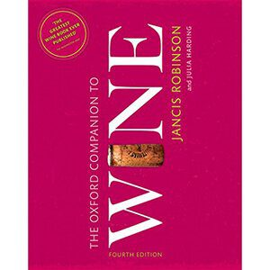 Oxford Companion of wine for a wine lovers gift - find more ideas on thetastesf.com