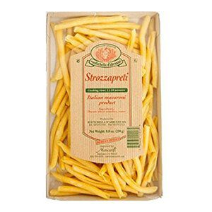 Make strozzapretti pasta shapes for dinner. See more fun shapes and sauces on thetastesf.com.