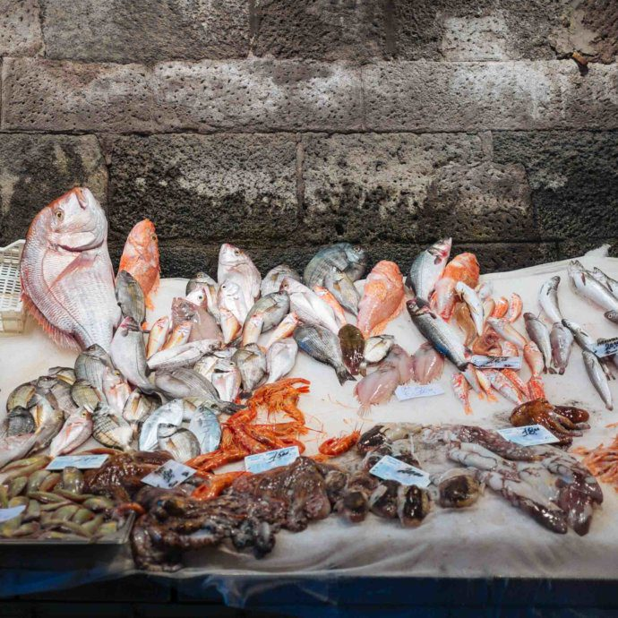 The Taste SF visits the Catania fish market in Sicily, Italy.