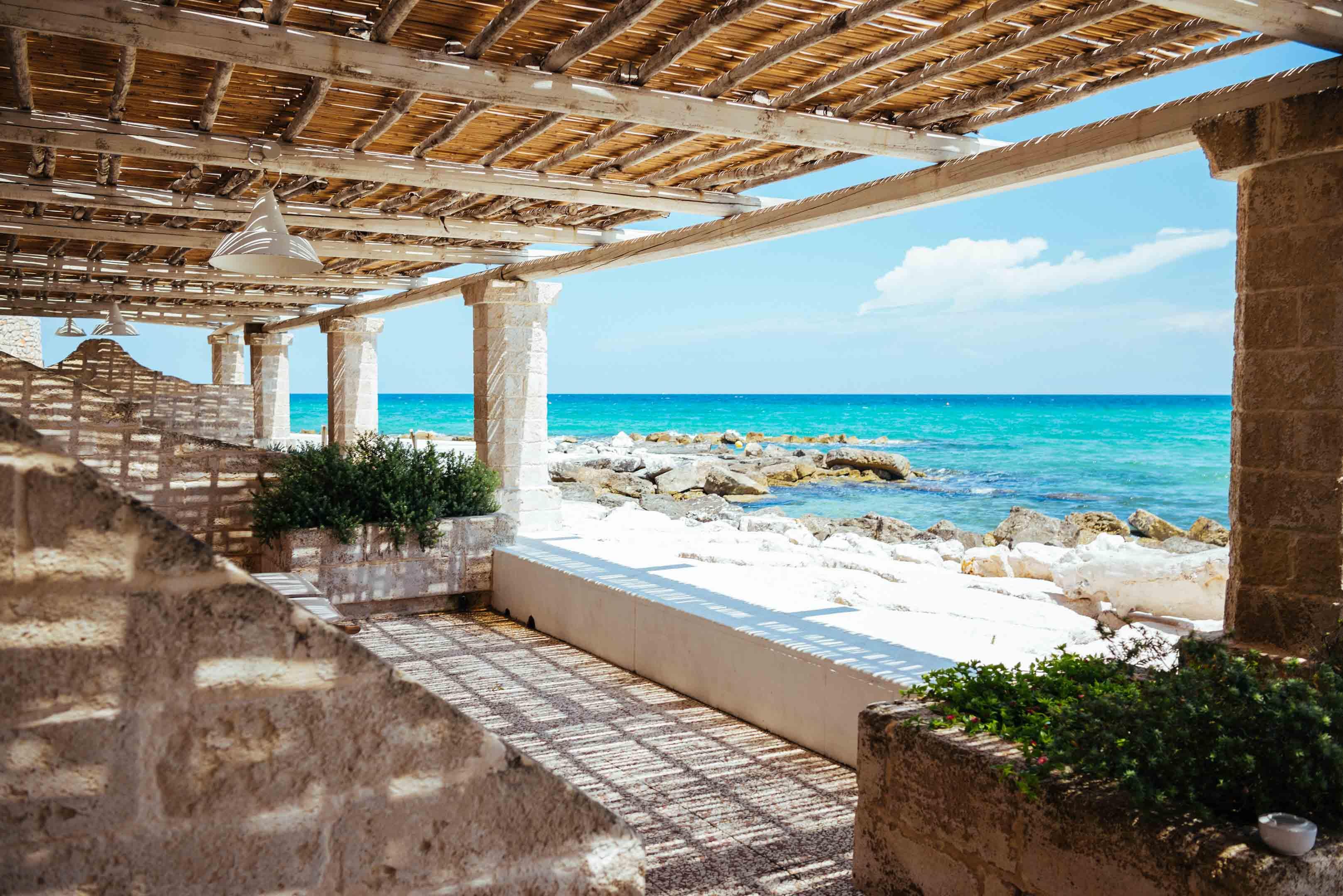 An Italian Sea Side Escape In Puglia La Peschiera The