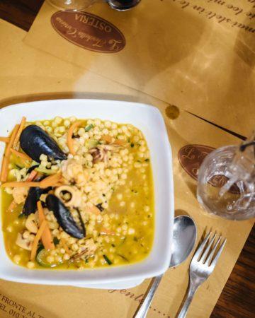 Where Italian Winemakers Eat in Genova