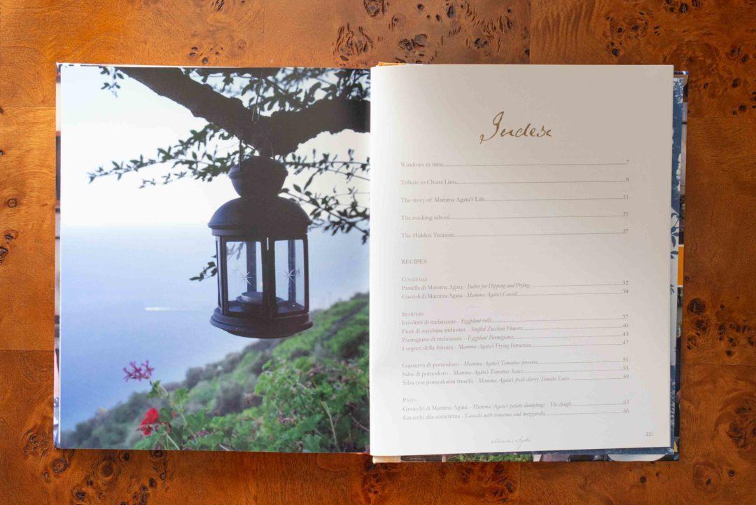 Mamma Agata Cookbook from the Amalfi Coast Index 1