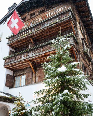 Klosters Hotel Chesa Grischuna: Part 1