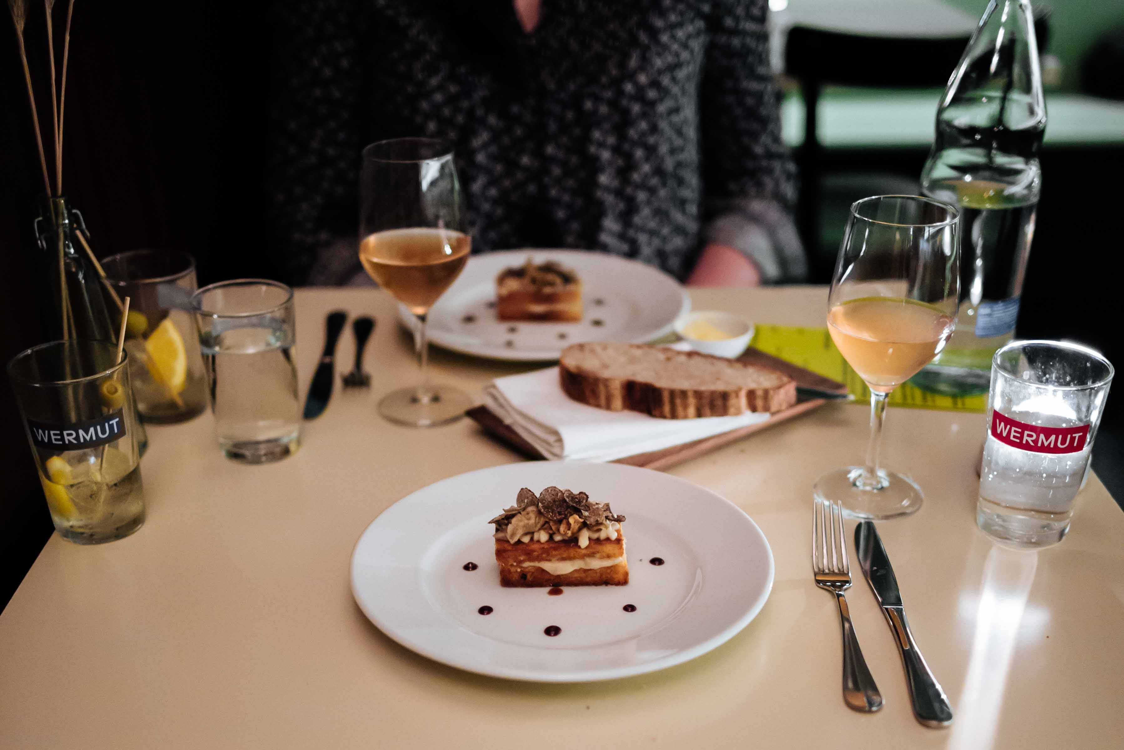 Zurich Restaurant: Wermut Vermouth Bar & Restaurant truffle brioche at dinner