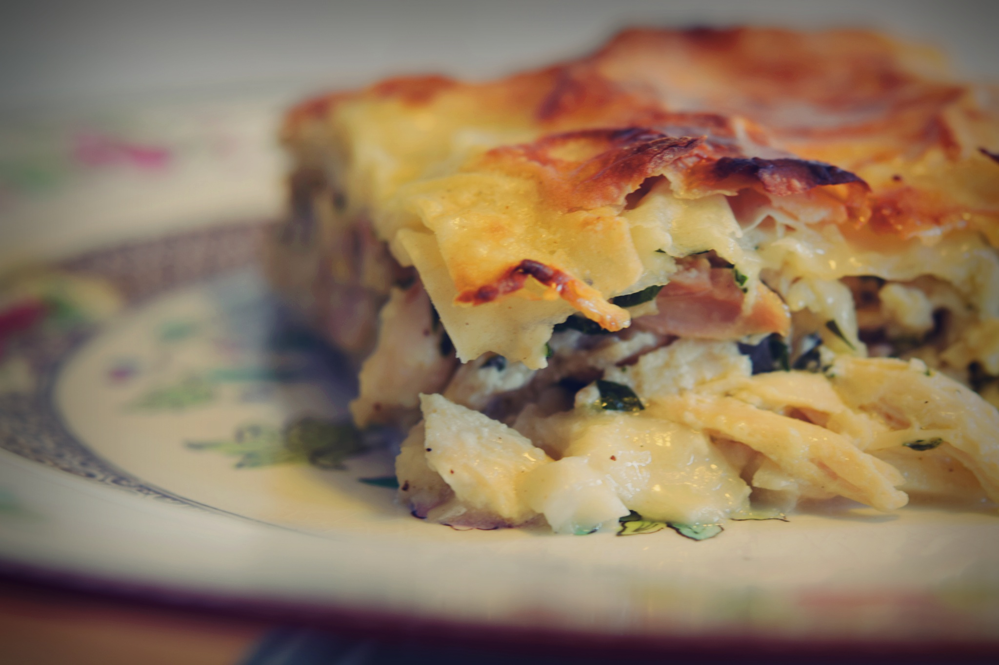 Bosnian Chicken Pie