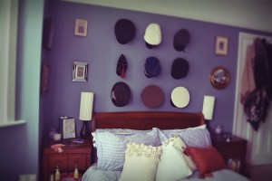 Hats in Bedroom