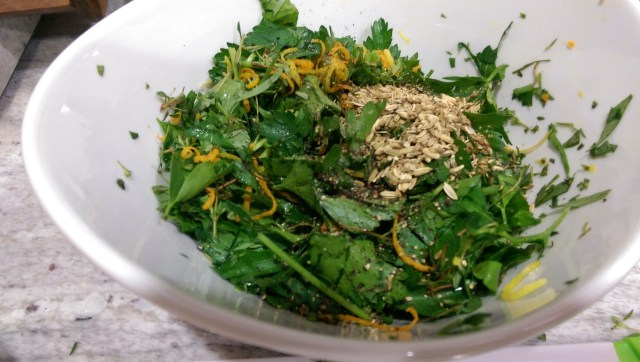 Herb mix for steelhead