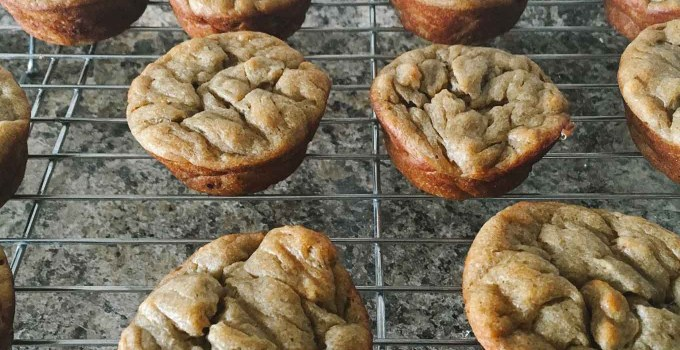 Banana Protein Muffins | the Tastiest Book