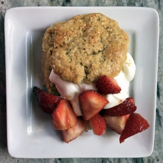 Brown Sugar Shortcakes with Strawberries