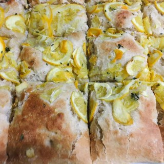 Sweet Foccacia with Oranges