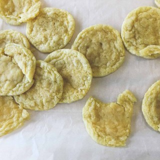 Lemon Sugar Cookies | the Tastiest Book