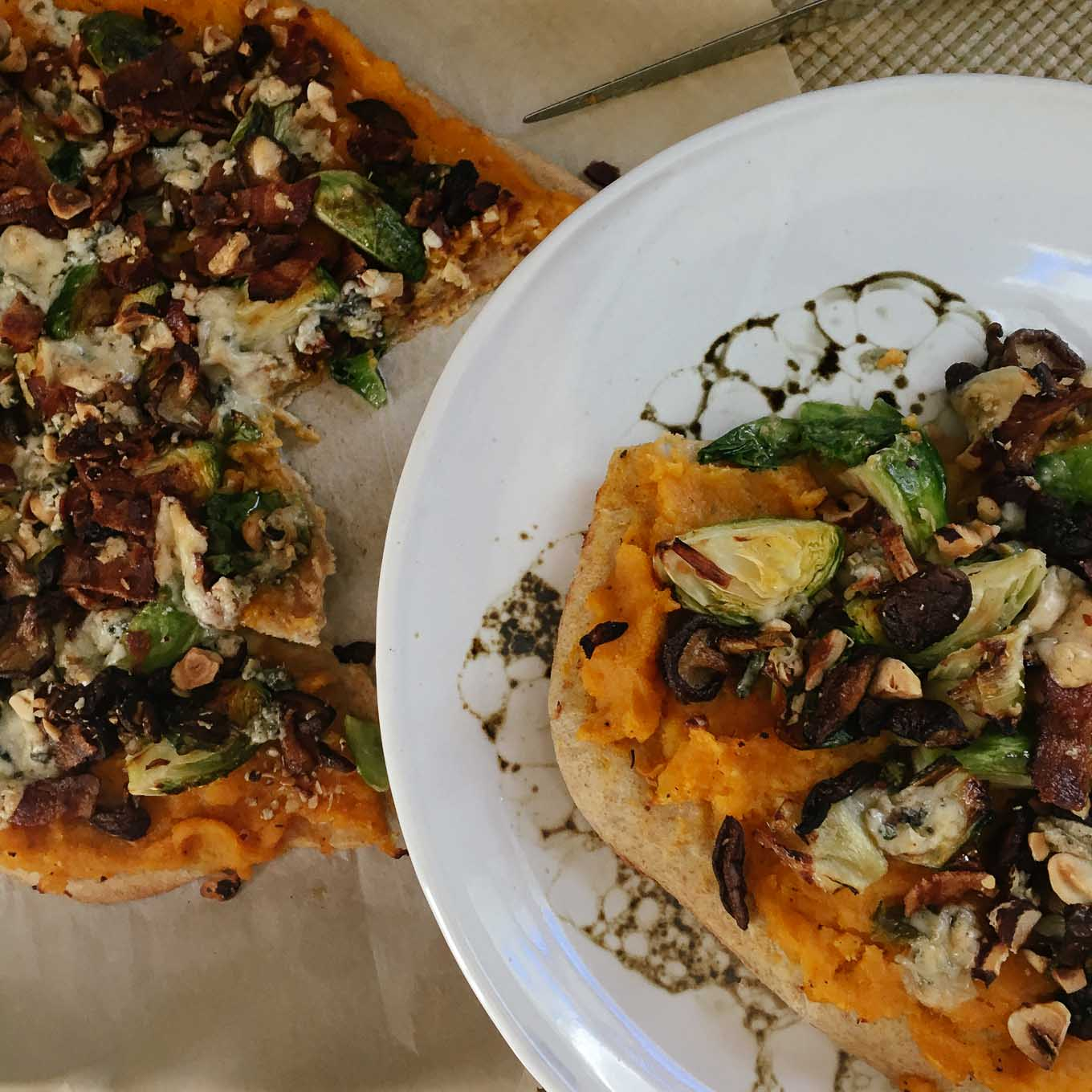 Winter Harvest Pizza | the Tastiest Book