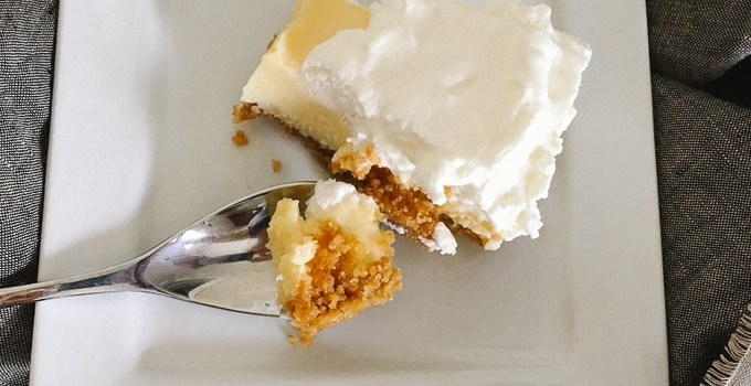 Lemon Pie Bars | the Tastiest Book