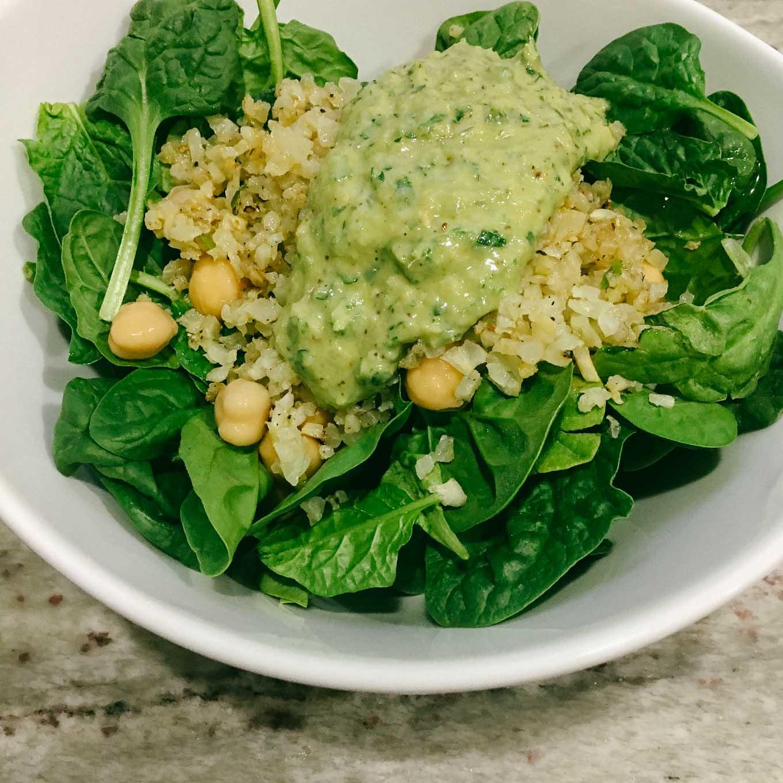 Roasted Cauliflower Salad   the Tastiest Book