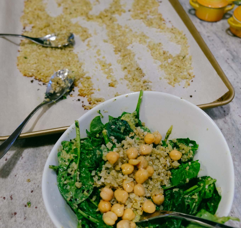 Roasted Cauliflower Salad | the Tastiest Book