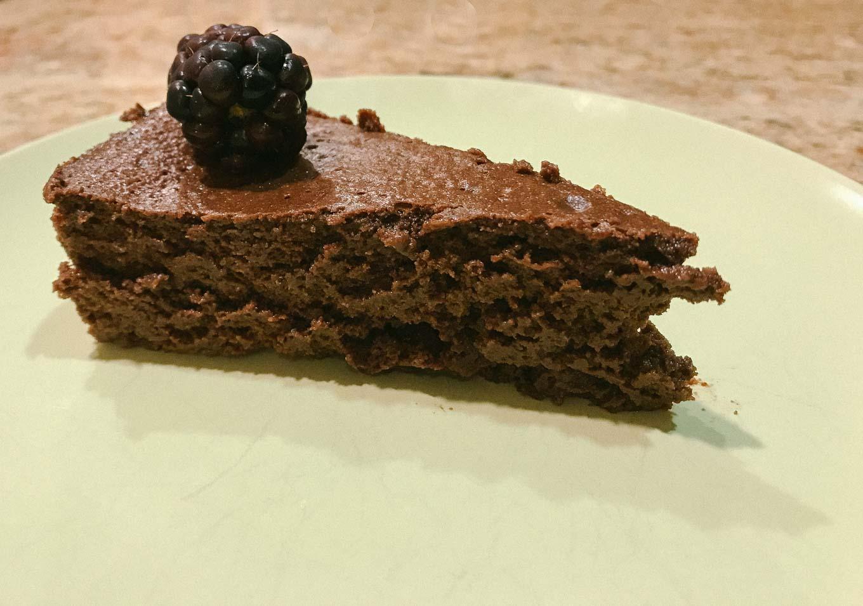 Flourless Chocolate Cake | the Tastiest Book