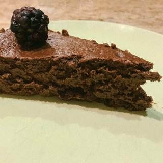 Flourless Chocolate Cake   the Tastiest Book