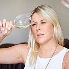 White Wine Riedel Glass