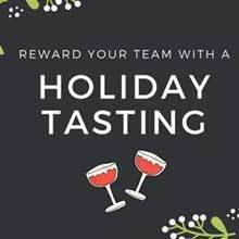 A holiday tasting