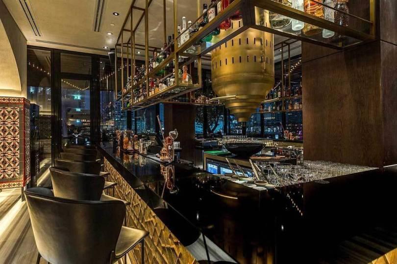 A restaurant / bar in Dubai