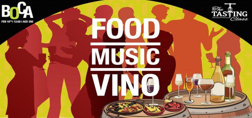 Brunch Wine Festival The Tasting Class Boca Dubai