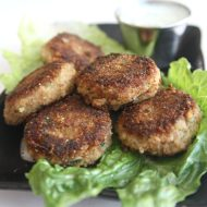 Tuna Croquettes with Yogurt-Dill Sauce