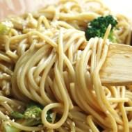 Peanut Sesame Cold Noodles