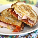 Grilled Cheese Sandwich with Spicy Tomato Chutney