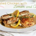 Roasted Chicken with Lemon and Capers