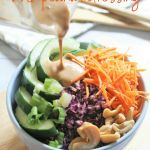 Thai Crunch Salad with Peanut Dressing