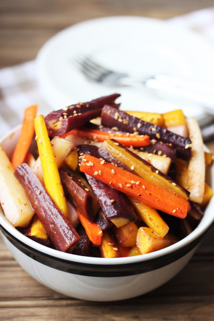 Chipotle Cumin Carrots are a delicious switch up from your standard glazed carrots side dish!