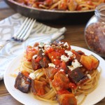 Sicilian Pasta with Eggplant and Tomatoes (Pasta Alla Norma)